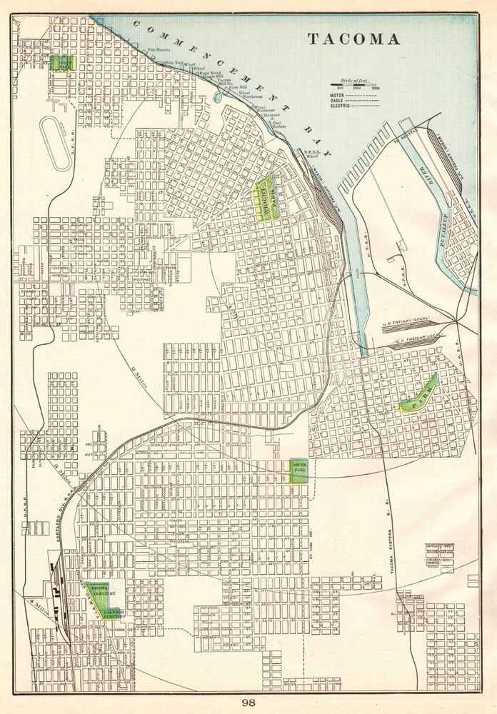 1901 Antique TACOMA Washington Map Vintage Collectible City ... on city of wisconsin map, city of germany map, city of chicago map, city of alabama map, city of new orleans map, city of puerto rico map, city of oklahoma map, city of marquette map, city of georgia map, city of idaho map, city of cincinnati map, city of miami map, city of montana map, city of kentucky map, city of seattle map, city of delaware map, city of virginia map, city of california map, city of tennessee map, city of louisiana map,