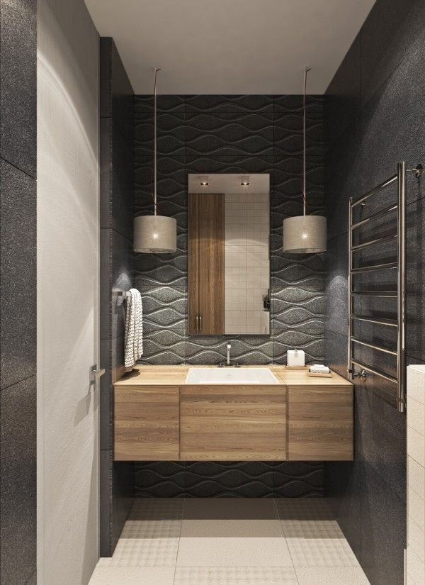 Home Designing — (via A Contemporary Apartment with Lots of Open...