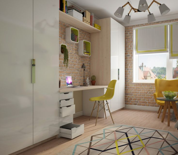 Детская комната для мальчика хоккеиста - Интерьер в современном стиле с Vitra | PINWIN - конкурсы для…