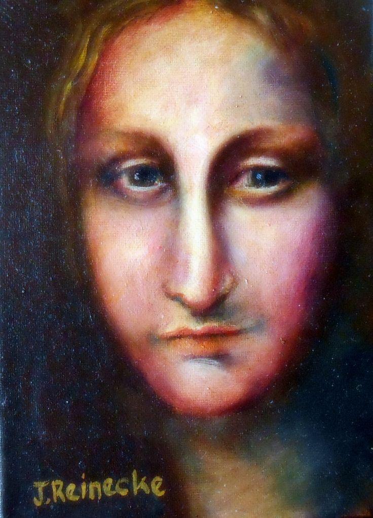 oil on canvas.stillness