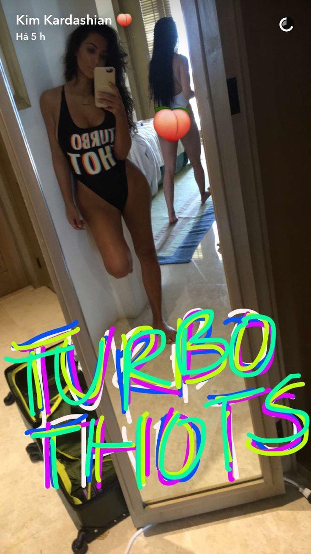 Kim's Snapchat - August 19, 2016