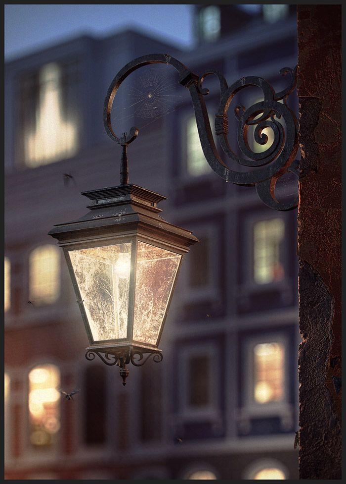 Making Of 'The Lantern' By Khadyko Vladimir. Click image for full tutorial