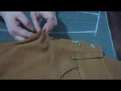 ✂ Como hacer el trazo del jeans levanta cola, sin patrones - YouTube