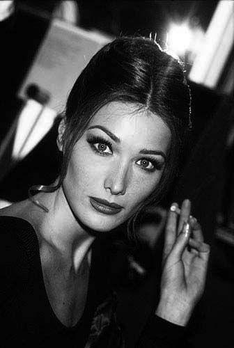 Carla Bruni - 1993, by Graziella Vigo