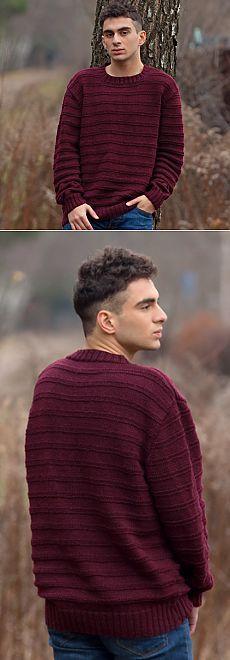 Скачайте схемы Бордовый свитер , вид рукоделия Вязание спицами - Валентина.ру