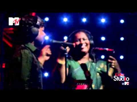 """Vethalai""  ----  Kailash Kher & Chinnaponnu, Coke Studio @ MTV S01 .... the voice and tone of the woman-singer is typical of the street-singers (she has imitated it)."