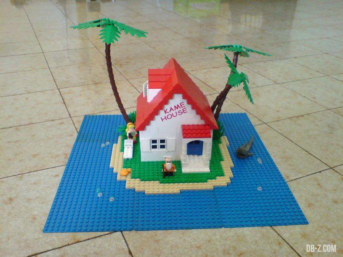1000 id es sur le th me dragon ball z sur pinterest - Modele construction maison lego ...