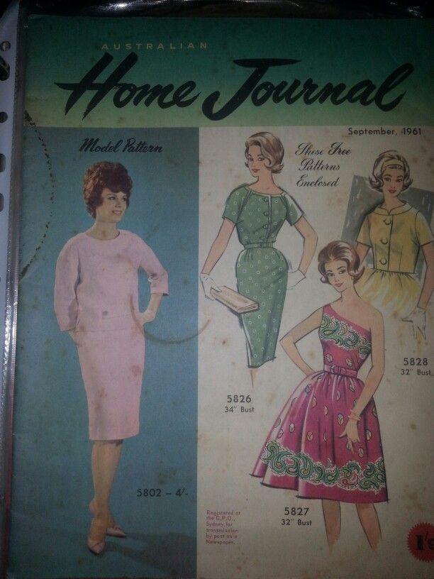 Australian home journal September 1961 cover