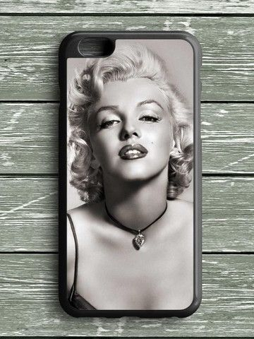 Black White Marilyn Monroe iPhone 6S Plus Case
