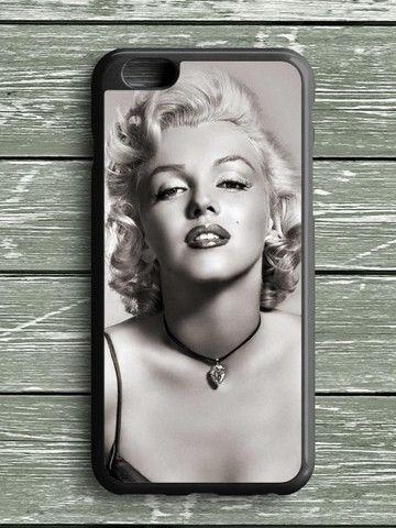 Black White Marilyn Monroe iPhone 6S Plus Case