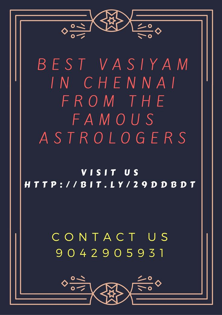 ‪#‎Vasiyam‬ ‪#‎services‬ in ‪#‎Chennai‬ by the best ‪#‎Manthrigar‬ Contact us:9042905931 http://bit.ly/29ddbdt
