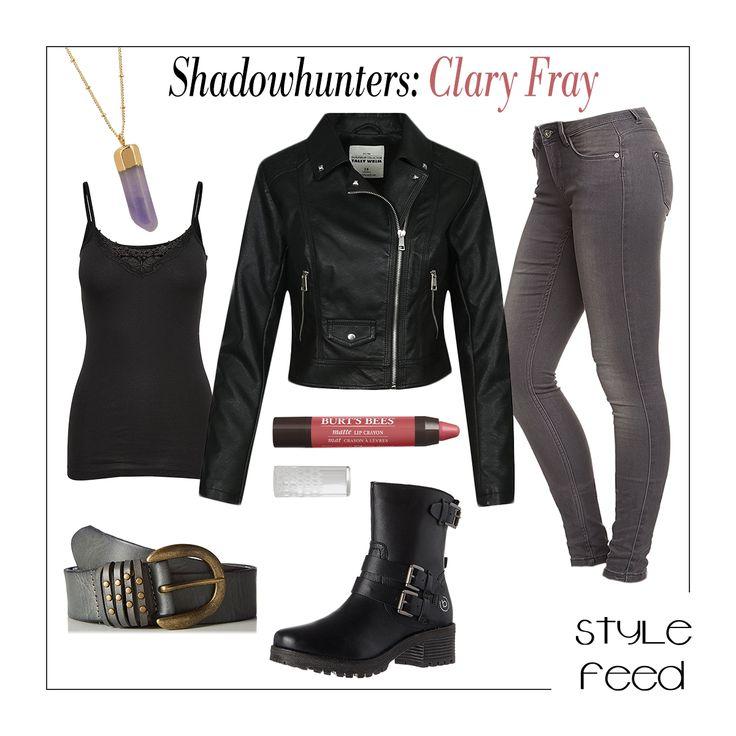 Schaut ihr Shadowhunters oder habt die Bücher gelesen? Clary Frays coole Outfits haben uns inspiriert, ein bisschen leder und Jeans zusammenzuwerfen, um mit dem magischen Halbengel mithalten zu können! Clary Fray Outfit / Clary Fray Style / Shadowhunters Fashion / Film Fashion / TV Show Fashion and Outfits | StyleFeed