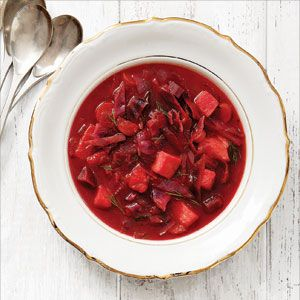 Russian Cabbage Borscht Recipe | Reader's Digest