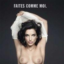 Pauline Delpech, ambassadrice de charme de l'association Le cancer du sein, parlons-en !