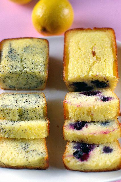 Yogurt Cakes: Lemon Cakes, Frozen Blueberries, Yogurt Cakes, Vanilla Extract, Cakes Recipes, Yogurt Breads, Favorite Recipes, Lemon Yogurt, Greek Yogurt