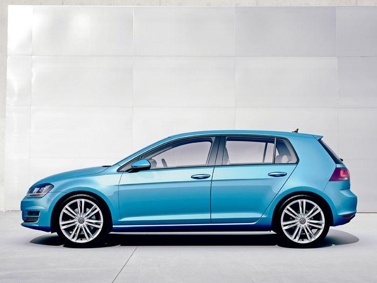 VW Golf 7 Seitenlinie