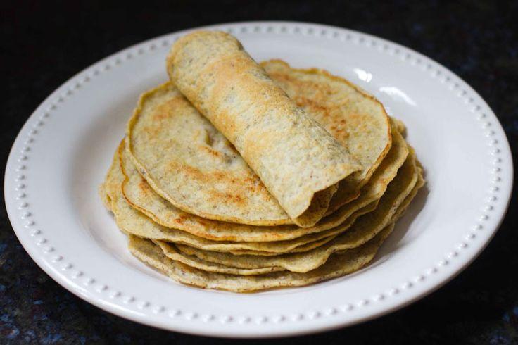 Tapioca en Kokosmeel pannenkoeken / wraps | Primal & Paleo recepten en informatie