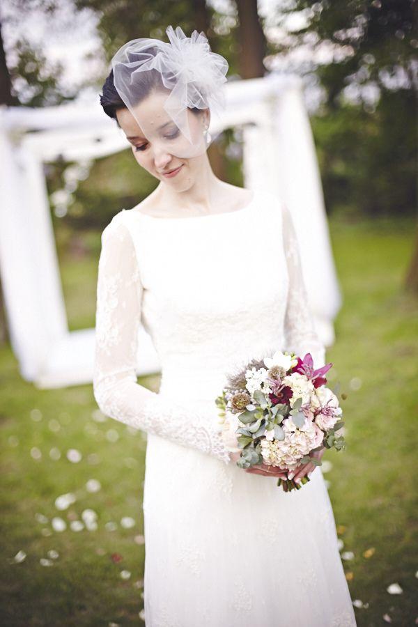 vestidos de novia a�os 40 - 50