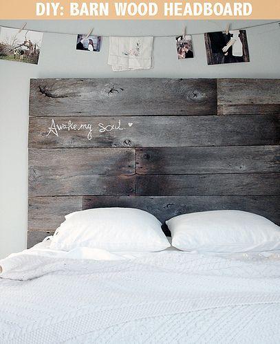 Wooden Headboard Ideas best 25+ barn board headboard ideas on pinterest | reclaimed wood
