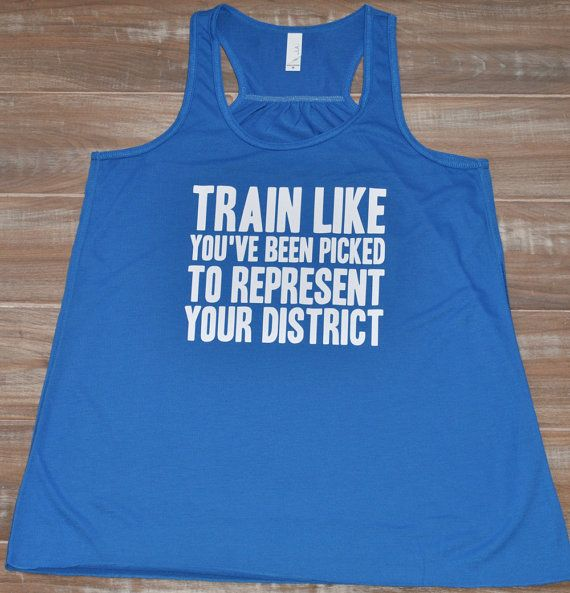 Train Like You've Been Picked To Represent Your District Tank Top - Hunger Games Shirt - Workout Tank Top - Crossfit Shirt - Quote