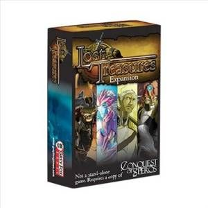 Grey Fox Games Conquest of Speros: Lost Treasures Expansion Board Game, Multicolor