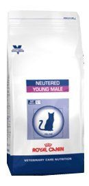 From 13.49 Royal Canin Vet Care Nutrition Cat Food Neutered Young Male 1.5 Kg