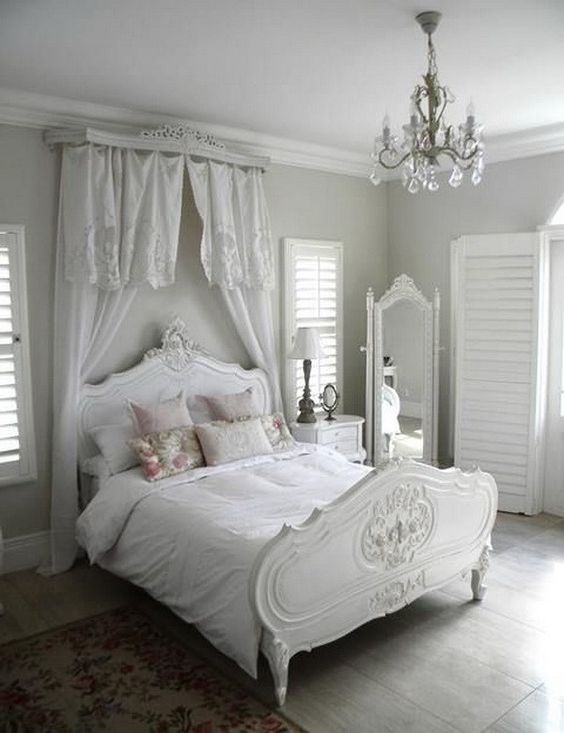 Best 25 shabby chic bedrooms ideas on pinterest shabby for French chic bedroom ideas