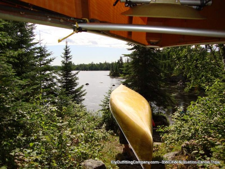 Ultralight Kevlar canoes portage like a dream.  They weigh about the same as a big bag of dog food, but they are easier to carry.