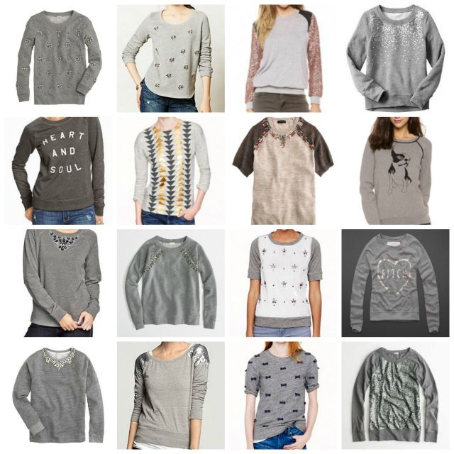 1461 best diy fashion and jewelry images on pinterest sewing adventures in dressmaking 3 or unlimited amazing easy ways to embellish a sweatshirt refashiongrey sweatshirtdiy solutioingenieria Choice Image