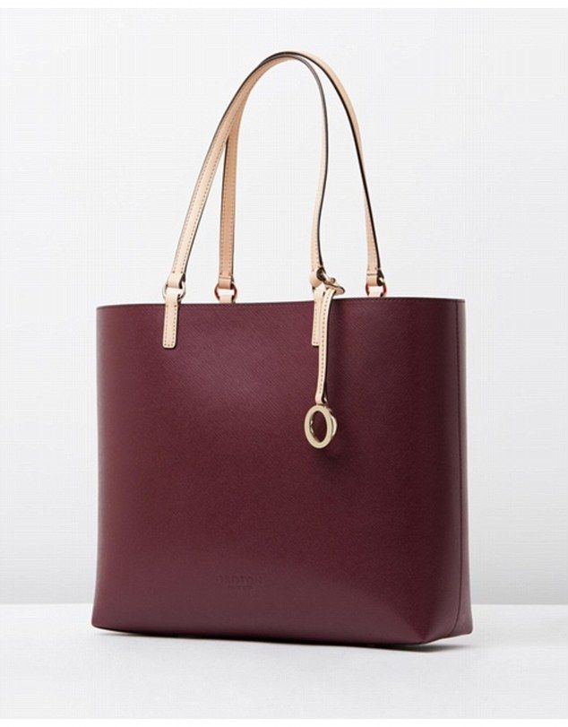 Roomy option: The Oroton Estate tote ($295, The Iconic) is larger, with plenty of room for...