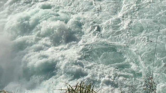 Spectacular Huka Falls, outside Taupō, North Island, NZ