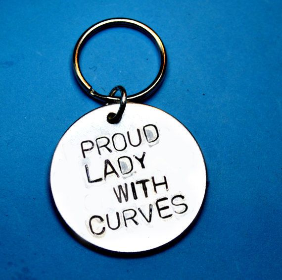 Woman with curves Curvy Proud lady with by BeesHandStampedGifts