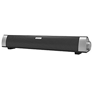 This speaker bar is fantastic! The look of it blends right in with my other electronics. It looks smart and not cheap at all. I consider myself a bit of an audiophile. Music has been important to m…