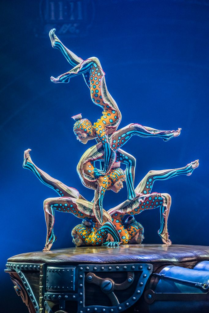 "I'd love to see any cirque du soleil show. I may have to break my ""never go to Vegas"" pledge for this..."