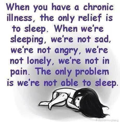 I would love to sleep, if the pain isn't keeping me up or my bladder isn't waking me up lol!