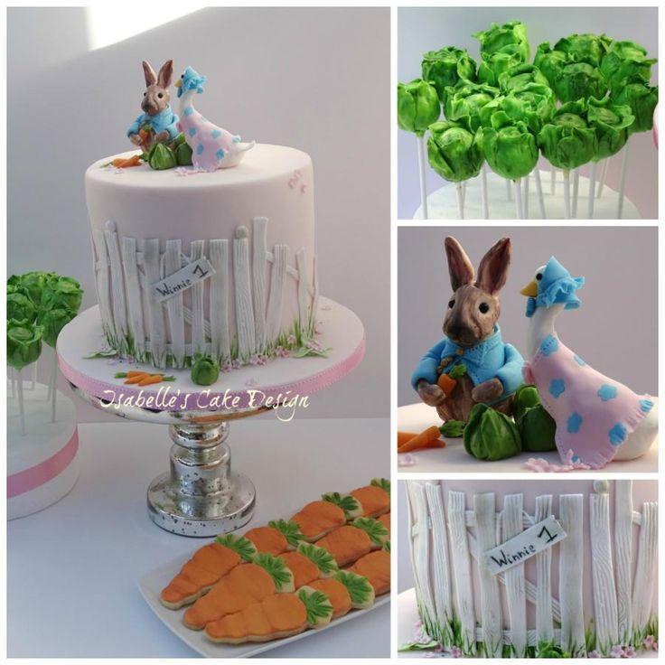 644 best images about Beatrix Potter Cakes on Pinterest ...