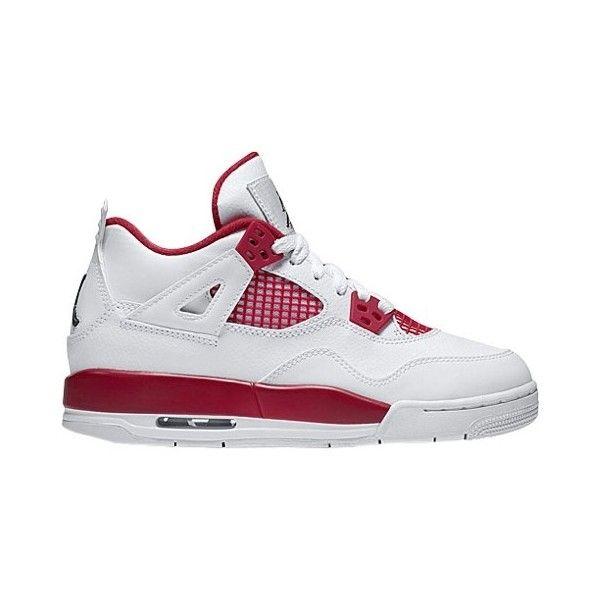 jordan shoes retro 4. jordan retro 4 boys\u0027 grade school (£115) ❤ liked on polyvore featuring shoes