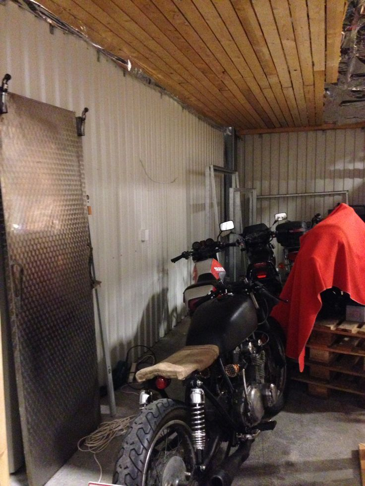 Preparing New garage for New projects...