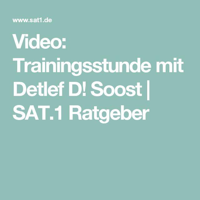 Video: Trainingsstunde mit Detlef D! Soost | SAT.1 Ratgeber