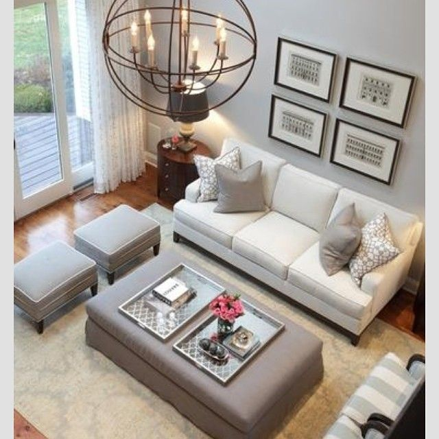 Love serving trays padgram decor pinterest trays for Small neutral living room ideas