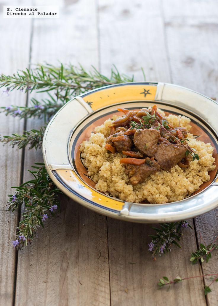 Solomillo de cerdo especiado con hortalizas y quinoa. Receta – PACO ALOY