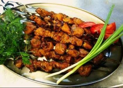 Шашлык из говядины по-сибирски – рецепт с фото