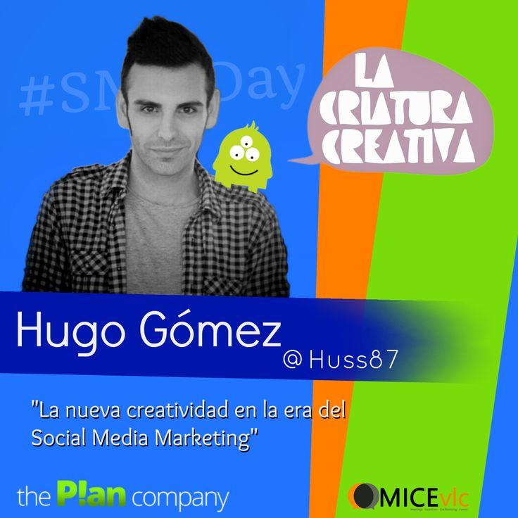 Nos encanta todo lo que hacen en La Criatura Creativa. Hugo Gómez, autor de este fantástico blog, estará con nostros el día 5 de Abril en el #SMMDay para hablarnos de creatividad y #RedesSociales.