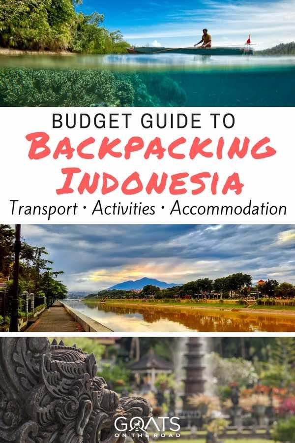 Planning a backpacking trip to Indonesia? This travel guide has everything that you need to know about transport, activities & accommodation including full budget costs of travel in Indonesia | #backpacking #bestofasia #travelasia #indonesia #ravelindonesia #beautifulplaces #budgetdestinations #bali #java #jakarta #lombok #paradise #travelitinerary #islands #culture