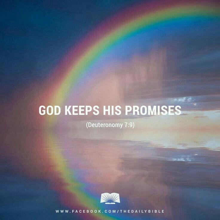 God doet wat hij beloofd. #quote #bible