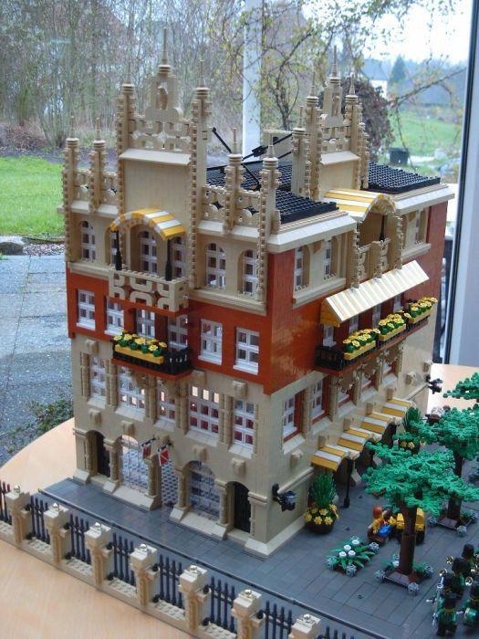 House-Moc II: A LEGO® creation by Andreas Boeker : MOCpages.com