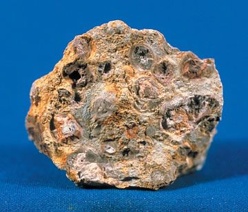 Bauxite was designated the official state rock of Arkansas in 1967. Arkansas has the largest bauxite deposits in the United States (located in Saline County). Bauxite contains aluminum ore, used to make soft drink cans, aluminum foil, and many other products.
