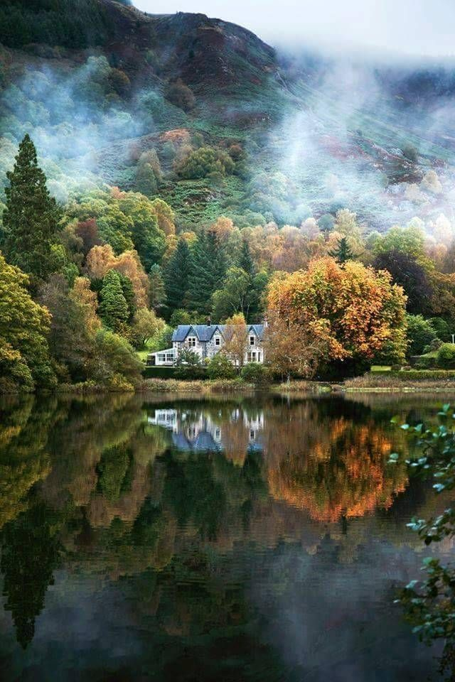 Loch Aberfoyle, Stirling, Scotland