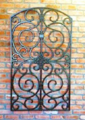 Best 25 iron wall decor ideas on pinterest for Wrought iron exterior wall decor