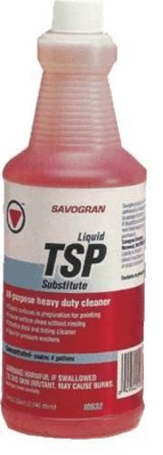 Savogran 10632 Trisodium Phosphate Cleaner, 1 Quart